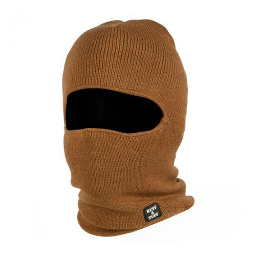 Ruff and Tuff 1 Hole Face Mask Duck Brown