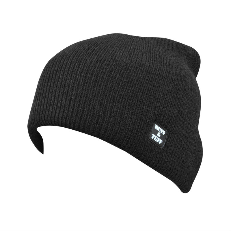 Ruff and Tuff Beanie Hat Black