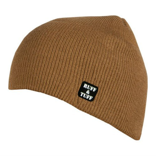 Ruff and Tuff Beanie Hat Duck Brown