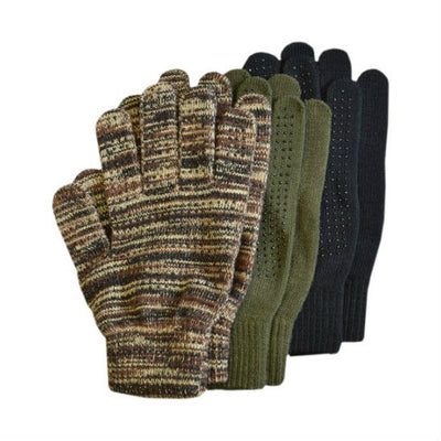 Magic Gripper Dot Gloves Size: Youth - Adult 2X Camouflage
