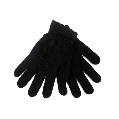 Magic Gripper Dot Gloves Size Youth - Adult 2X Black