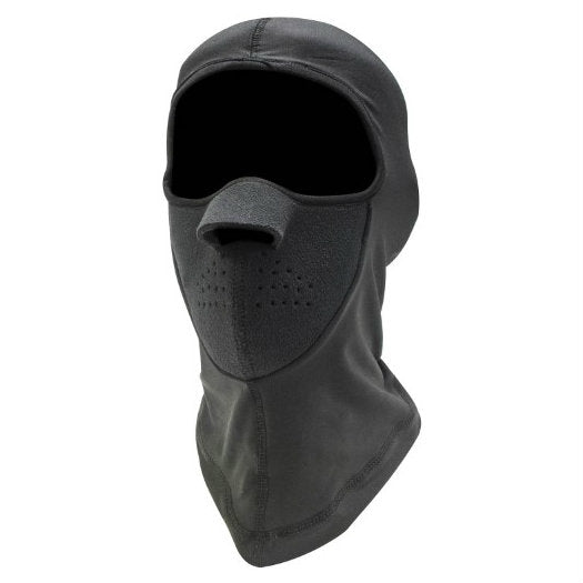 Black Neoprene / Fleece Face Mask