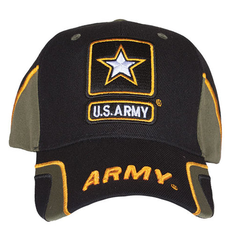 Army Star Force Hat Black / Olive