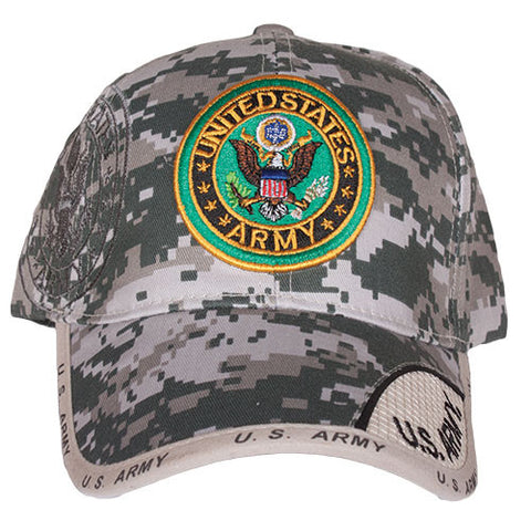 ACU Digital Army Crest Embroidered Hat