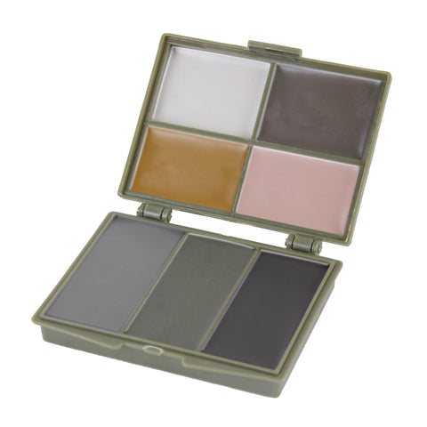 7 Color Camouflage Face Paint Compact - Indy Army Navy