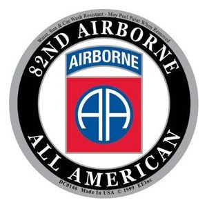 82nd Airborne All American Decal