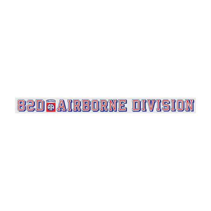 82nd Airborne Division Strip Decal