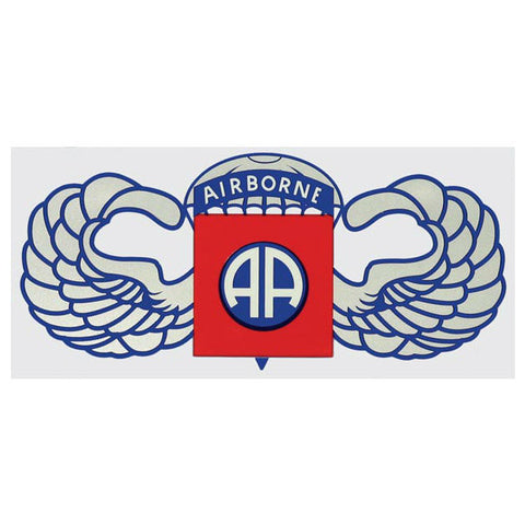82nd Airborne Jump Wing Decal