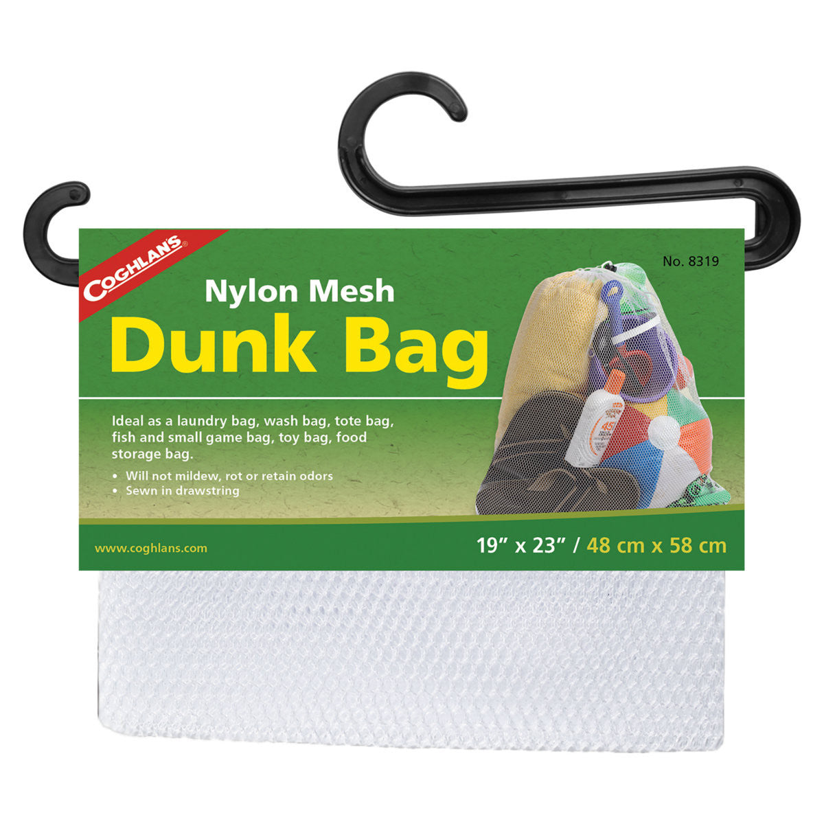 "Coghlan's Nylon Mesh Dunk Bag 19"" x 23"""