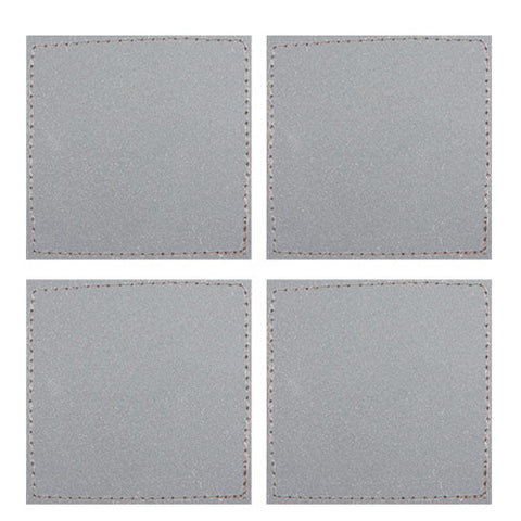 Safety Reflective Velcro Squares (4 Pieces)