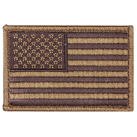 Coyote Hook & Loop US Flag Patch