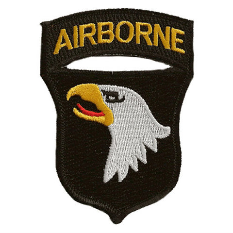 101st Airborne Iron On Patch - Indy Army Navy