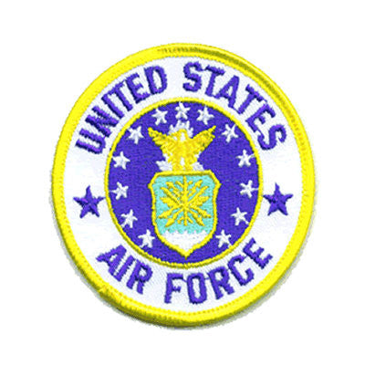 Air Force Seal Iron On Patch