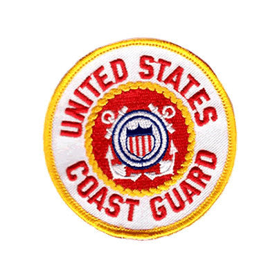 Coast Guard Seal Iron On Patch