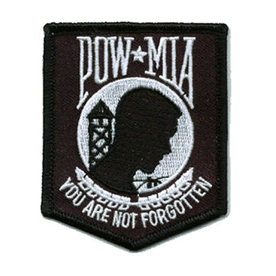 POW / MIA Iron On Patch