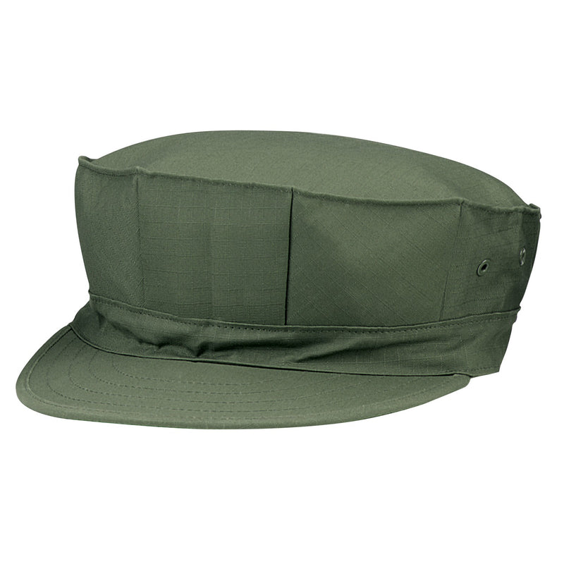 8 Point Marine Hat Olive Drab No Emblem