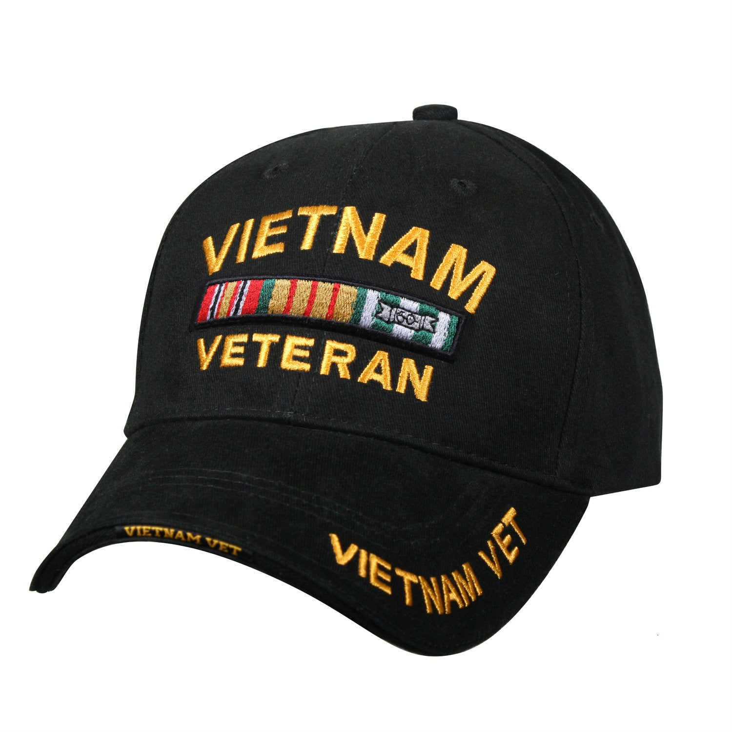 Black Vietnam Veteran Hat