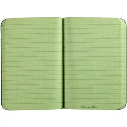 "Rite in the Rain 954 All Weather Universal Field Flex Memo Book Green 3.5""x5"""