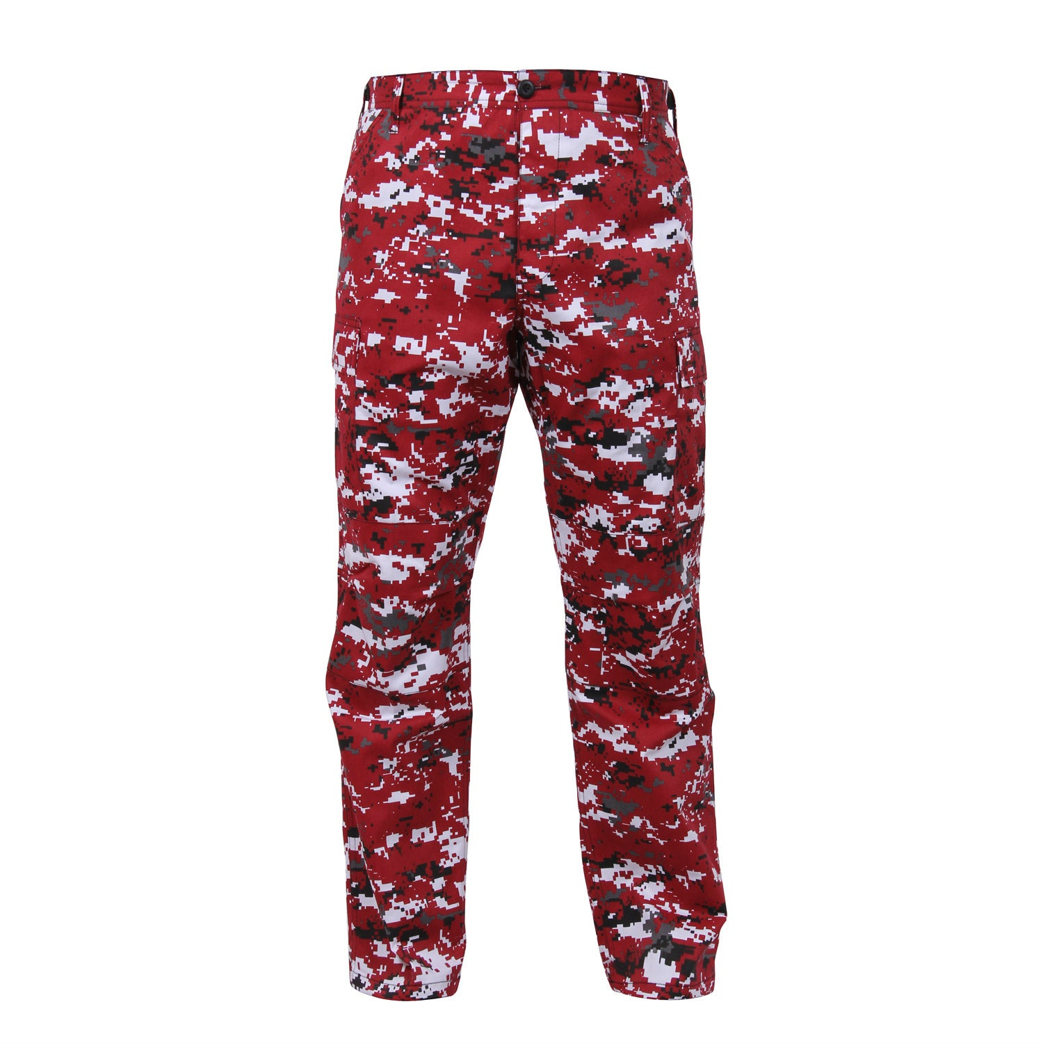 Red Digital Camouflage BDU Pants