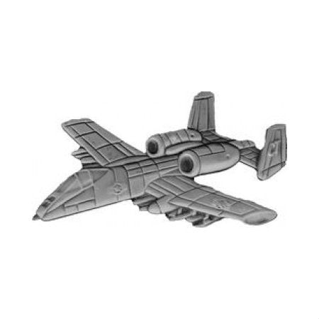 A-10 Airplane Hat Pin (1 1/4 Inch)