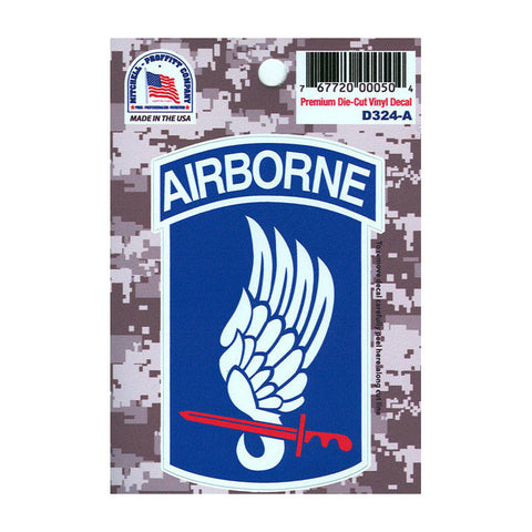 ACU 173rd Airborne Division Decal