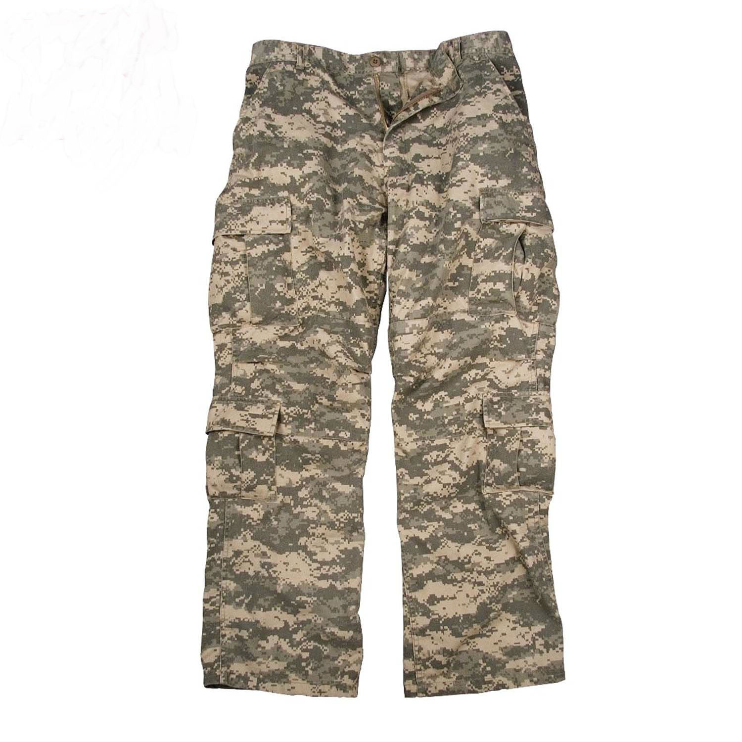 Vintage Paratrooper Fatigue Pants ACU Camouflage