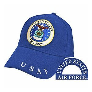 Air Force Emblem Hat Blue