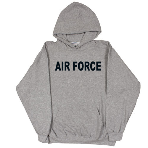 Air Force PT Hoodie Sweatshirt Grey