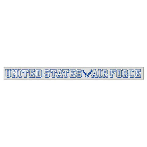 US Air Force Wing Logo Strip Decal