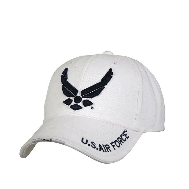 Air Force Wing Logo Hat White