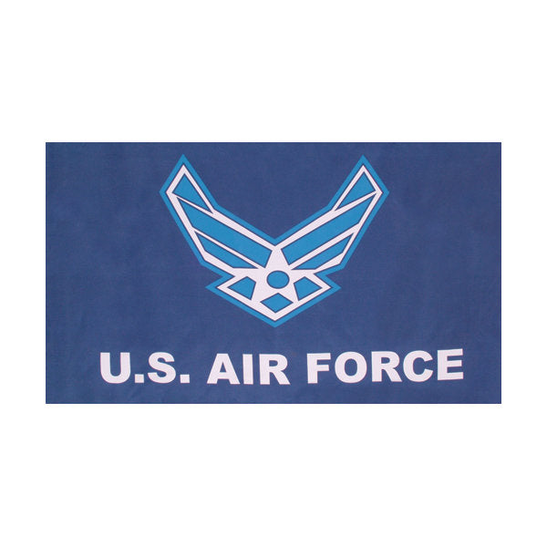 Air Force Wing Logo Flag 3' x 5'