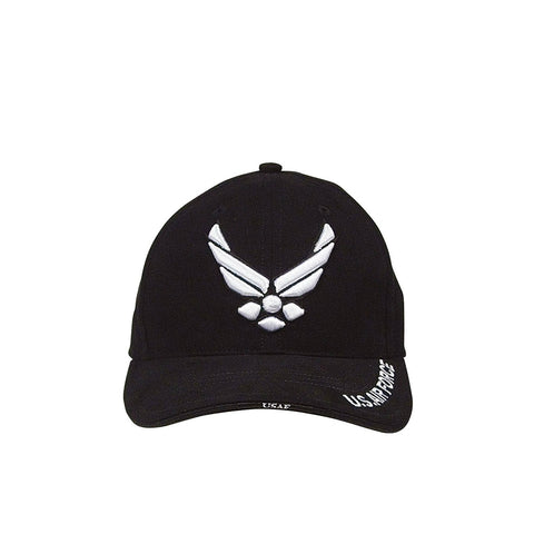 Air Force Wing Logo Hat Black