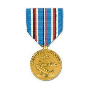 WWII American Campaign Medal Anodized