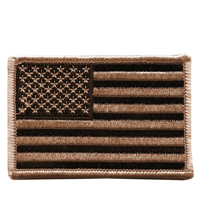 American Flag Patch Desert Tan