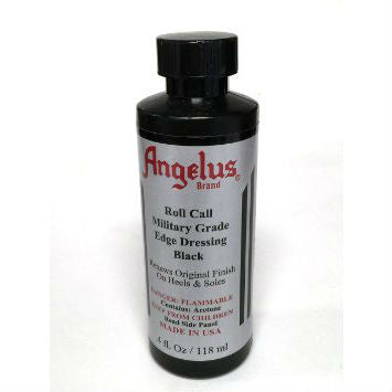 Angelus Roll Call Military Edge Dressing Black 4 oz.