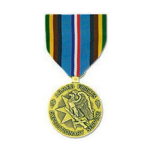 Armed Forces Expeditionary Medal Anodized