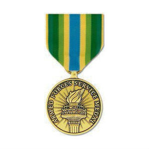Armed Forces Service Medal Anodized