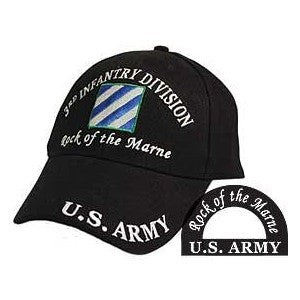 Army 3rd Infantry Division Hat Black