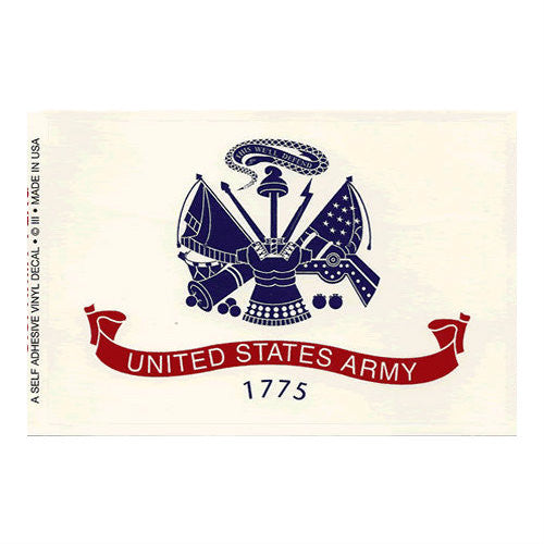 Army Flag Decal
