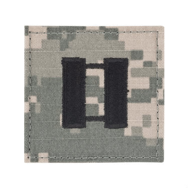 Army Captain ACU Hook & Loop Rank