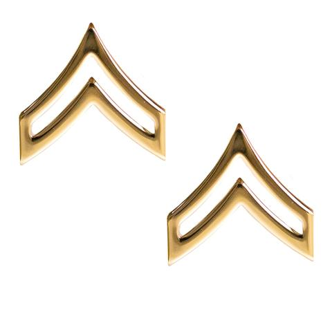 Army Corporal (E-4) Rank No Shine