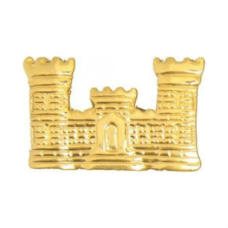 Army Corps of Engineers Castle Hat Pin