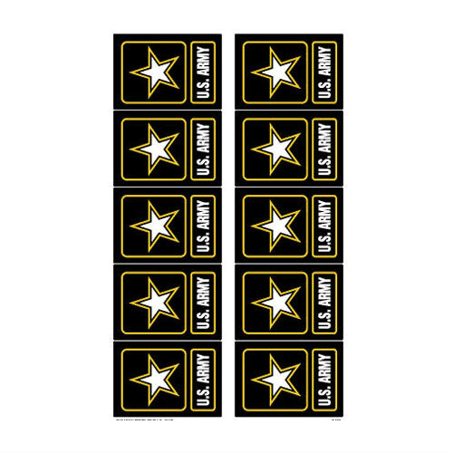 Army Logo Mini Sticker Pack