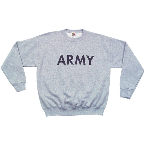 Army PT Crew Neck Sweatshirt Grey