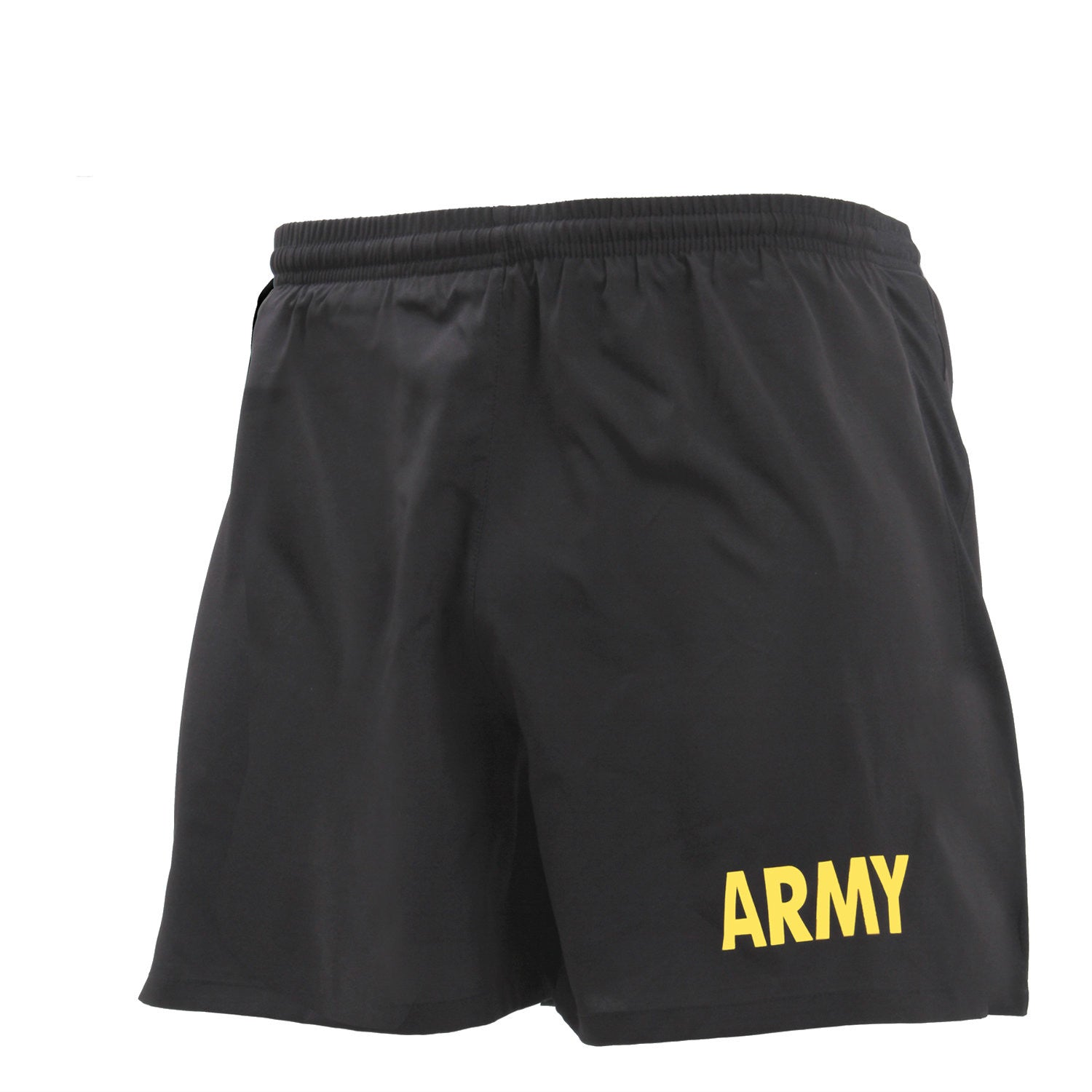 Army Physical Training Shorts Black / Gold