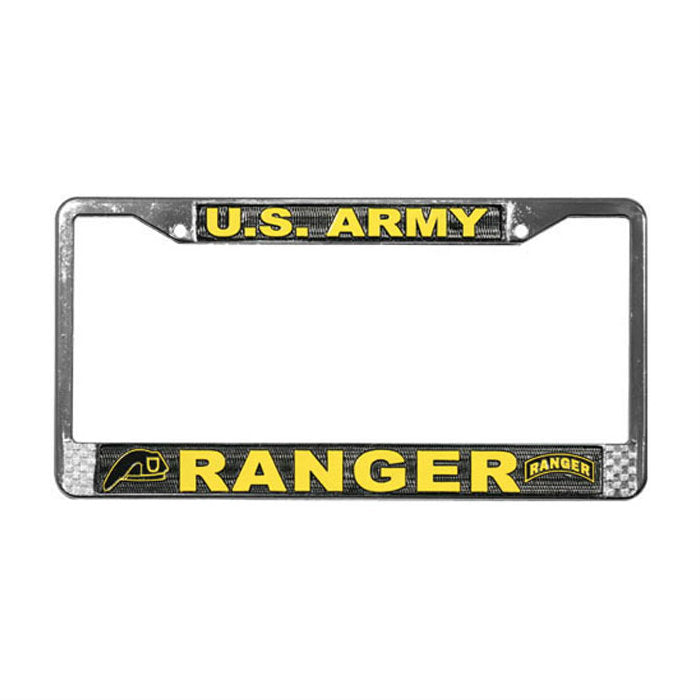 Army Ranger License Plate Frame