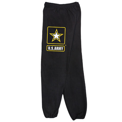 Army Star Sweatpants Black
