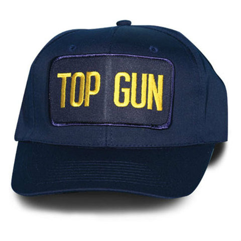 Blue Top Gun Hat