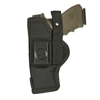 "Belt Clip OWB Holster Full Size Glocks / Rugers / S&W / Sigs Auto 4"" Barrels Ambidextrous"