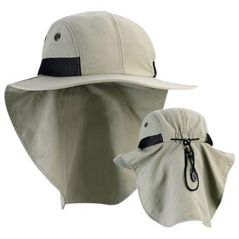 Juniper Big Bill Flap Cap Olive